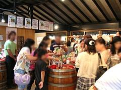 店内:巨峰ワイン工場・ワイン試飲販売所@田主丸・久留米