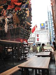 店内:テーブル席@川端ぜんざい・博多川端商店街
