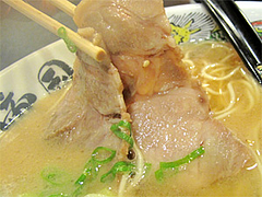 料理:ラーメンチャーシュー@拉麺帝国本店・サンセルコ地下