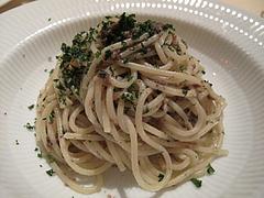 10ランチ:マッシュルームミンチのオイルソーススパゲティ@イタリアンレストラン・天神・西鉄グランドホテル・マンジャーモ