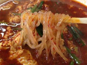 8大辛15倍韓国麺@辛麺屋司