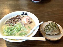 ランチ:レディースセット600円@ラーメン・博多麺屋台・た組