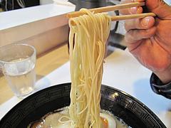 料理:白豚骨ラーメン麺@拉麺空海・雑餉隈駅前店