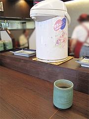 料理:温かいウーロン茶@だるまの天ぷら定食・吉塚本店