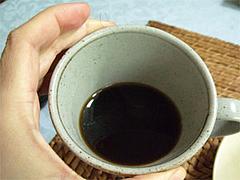 たんぽぽコーヒー淹れてみました。
