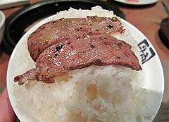 料理:オンザライス・特撰カルビ(タレ)924円@牛角・東比恵店