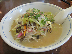 料理:ちゃんらー530円@ちゃんぽん専門店・千吉・博多区神屋町
