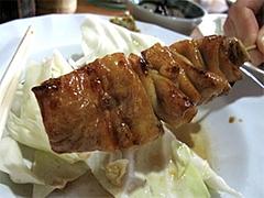 料理:しろ180円@焼鳥牛作・福岡市中央区小笹
