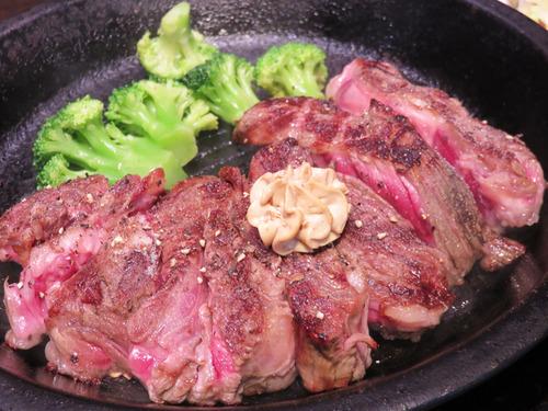 【福岡】スタンディング肉ランチ♪@いきなり!ステーキ 福岡天神店
