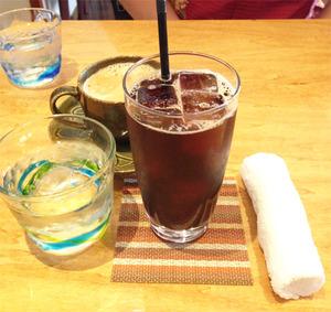 6コーヒー1@万丸カフェ