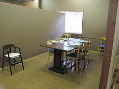 店内:半個室@フレンチ・サンアン・早良区石釜