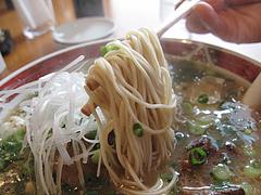 料理:角煮らーめん麺@ラーメン本舗・博多葱一・天神