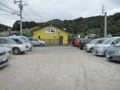 外観:駐車場@うどん王子・筑紫郡那珂川町
