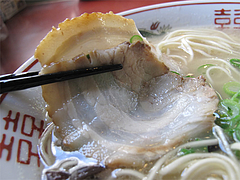 7ランチ:博多豚骨ラーメン焼豚@ラーメン博多荘・中州