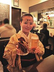 店内:ビールとポテチ@BUTCHER・炭火焼フレンチ・ブッチャー・平尾