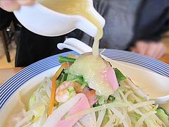 料理:野菜たっぷりちゃんぽんのドレッシング@リンガーハット福岡大橋店