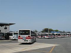 外観:西鉄バス・片江営業所@山ちゃん・ちゃんぽん