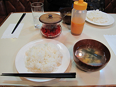 料理:ご飯と味噌汁@レストラン喫茶・赤坂美松