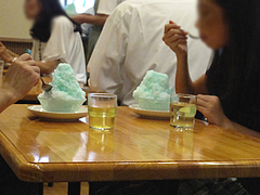カフェ:コバルトアイスだらけ@蜂楽饅頭・西新