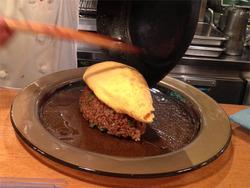 10オムライスの玉子@洋食キチキチ
