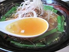 料理:台湾ラーメンスープ@点心楼・台北・薬院店