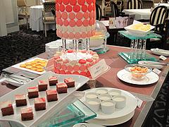 20ランチ:デザートコーナーアップ@ブルースター・タカクラホテル福岡