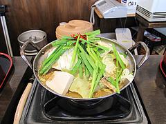 5ランチ:ハーフ麺もつ味噌味680円@一人もつ鍋・元祖博多麺もつ屋・春吉