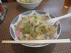 5ランチ:チャンポン650円@花びし・西中洲