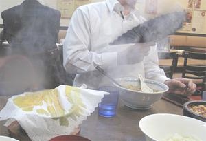 13頂点石焼麻婆豆腐けむり@味覚
