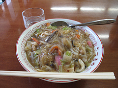 料理:あんかけちゃんぽん650円@薩摩屋・清川