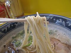 料理:ラーメン麺@とんこつラーメン・たえちゃん
