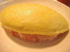 料理:明太子オムライスアップ@五穀けやき通り店・福岡市中央区赤坂