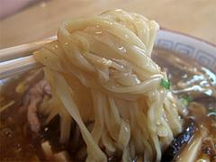料理:酸辣湯麺の麺@巧福・大橋