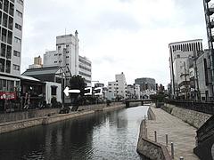 外観:川側から引き2@博多川端商店街