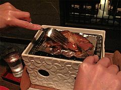 料理:豚足のやわらか煮炙りのワケワケ@ウォーターダイニング蔵音・博多駅東