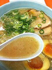 ランチ:ラーメンスープ@二丁目ラーメン・港・福岡