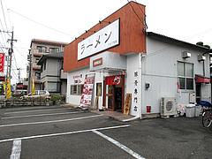 外観:駐車場8台@ラーメン・かなで食堂・春日