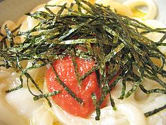 料理:明太釜玉アップ@丸亀製麺・西月隈店