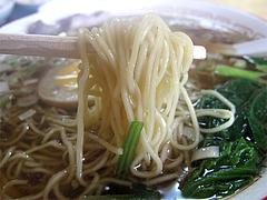 ランチ:醤油ラーメン麺@本格中華料理・翔悦・樋井川