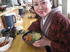 10ランチ:肉うどんです@天ぷらうどん・唐人町