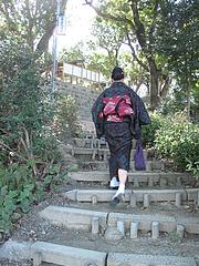 外観:階段@高宮八幡宮・福岡