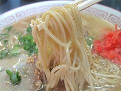 料理:ラーメン麺@ラーメン基峰・笹丘エムザス