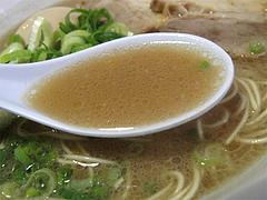 ランチ:ラーメンスープ@LA-麺HOUSE将丸・親富孝通り・天神
