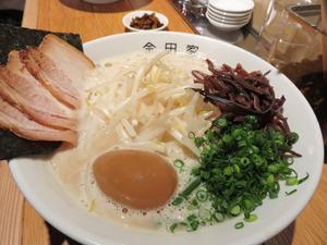 7もやしらーめん煮玉子入り950円@金田家キャナル
