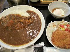 料理:日替わりカレーセット700円@博多伽哩家かかろっと