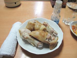 8常温ゆで豚足@清香園