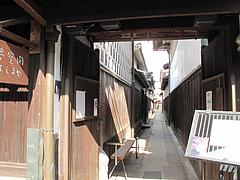外観:お店の入り口はこの奥です。@夢空間はしまや・カフェ・倉敷