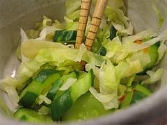 料理:卓上のキャベツの浅漬け@だるまの天ぷら定食・吉塚本店