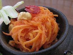 14ランチ:前菜サラダ・ニンジンのマリネ@食堂シェモア・フレンチ・イタリアン・洋食