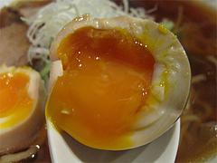 料理:時半熟煮玉子100円@博多発祥中華そば・鶴と亀